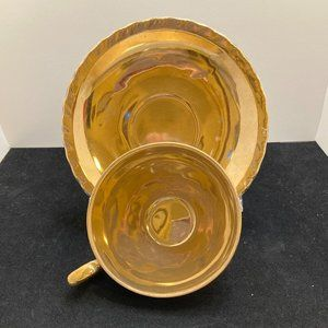 Original ArnartCreation Gold Demi Cup and Saucer